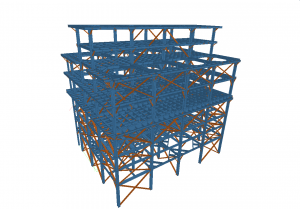 Structural engineering of material processing facility